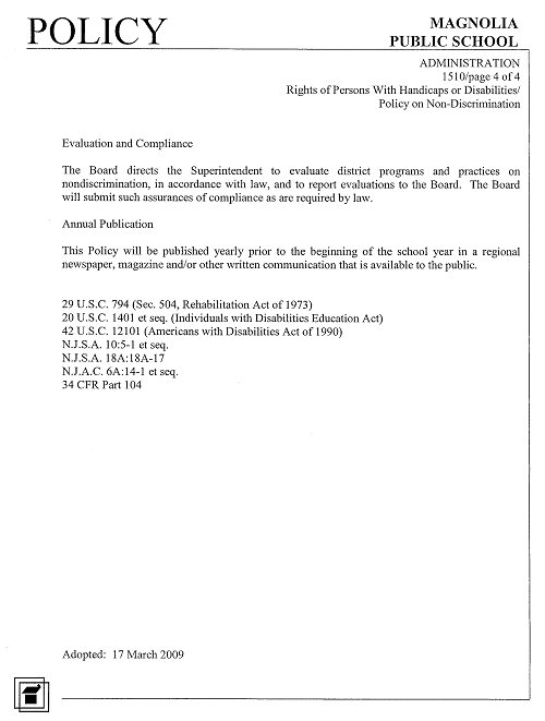 Disability Policy Page 4